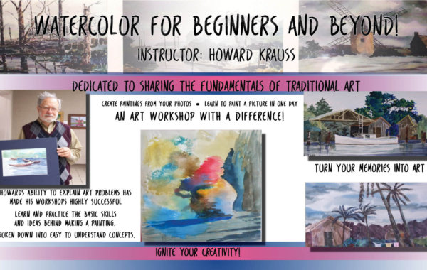 Watercolor Beginners & Beyond!