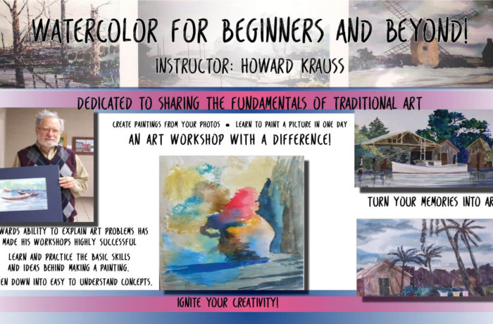 Watercolor For Beginners & Beyond!