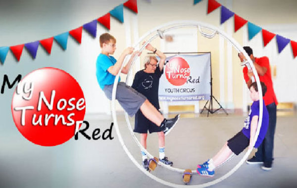 My Nose Turns Red Circus Arts Camp