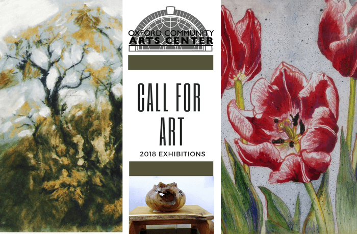 Call for Art – 2018 Exhibitions