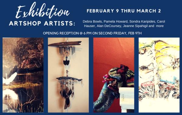 Art Shop Artist Exhibition