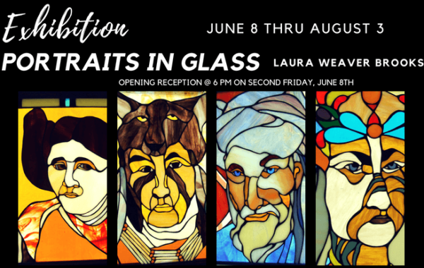 Exhibition: Portraits in Glass – Laura Weaver Brooks